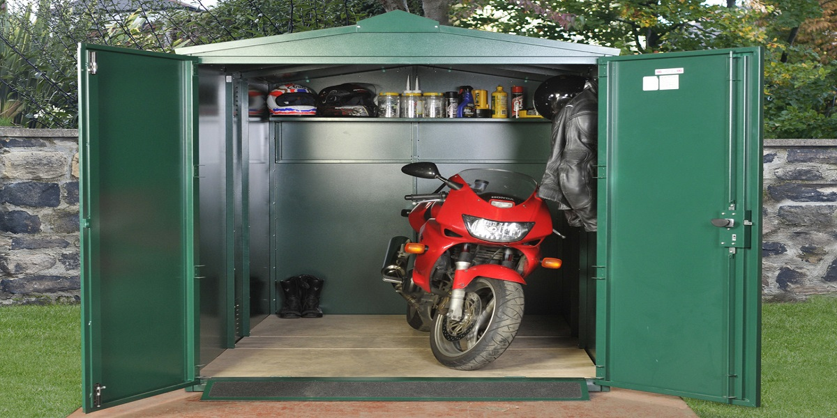 8 Best Motorcycle Storage Sheds Must Read Reviews For February 2021