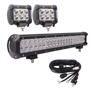 Top atv led light bars reviewed in 2018 these bangbangche light bars should offer all the illumination you require for safely navigating an atv at night whether through the mountains aloadofball Choice Image